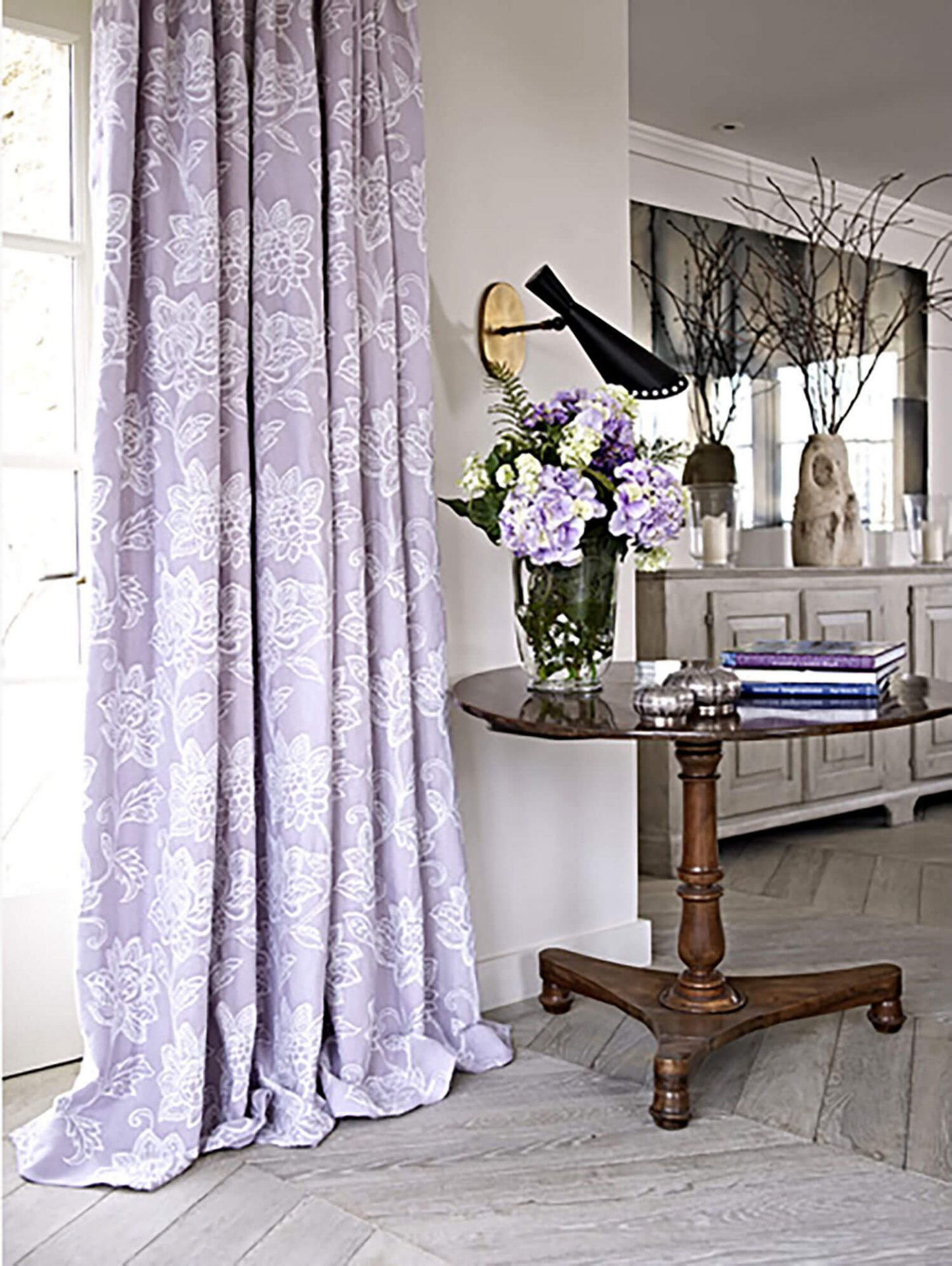 Wimborne Mulberry | Curtains