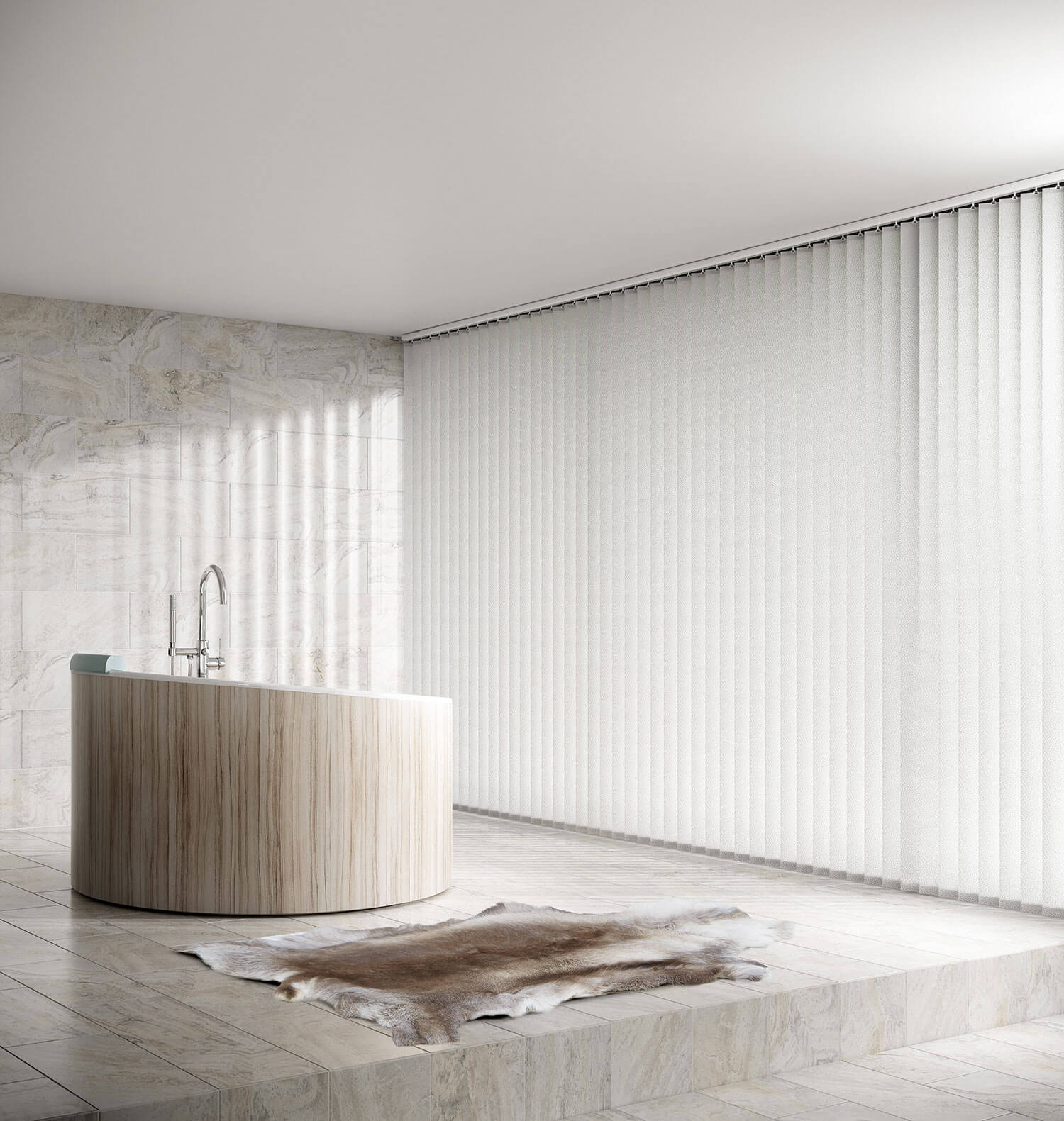 Alessi Snow | Vertical Blind