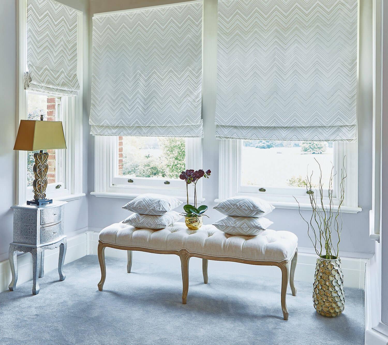 Apache Oyster | PT Fabrics Roman Blind