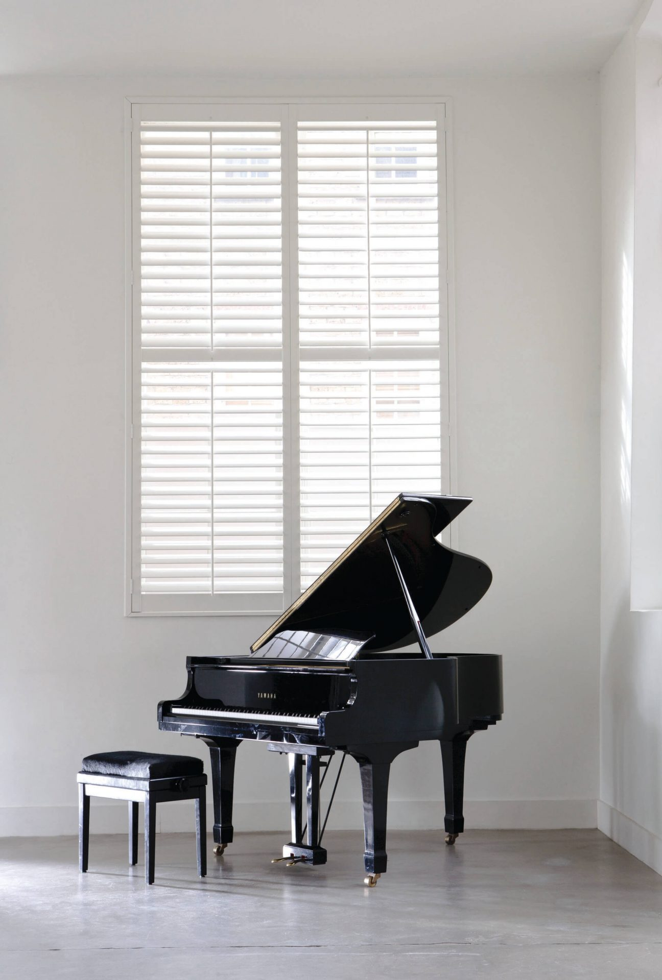Christo Crystal White Glow Shutters