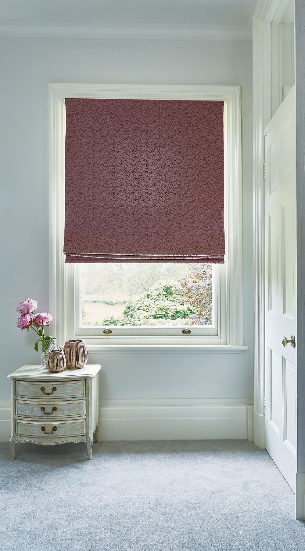 Crater Heather | PT Roman Blind