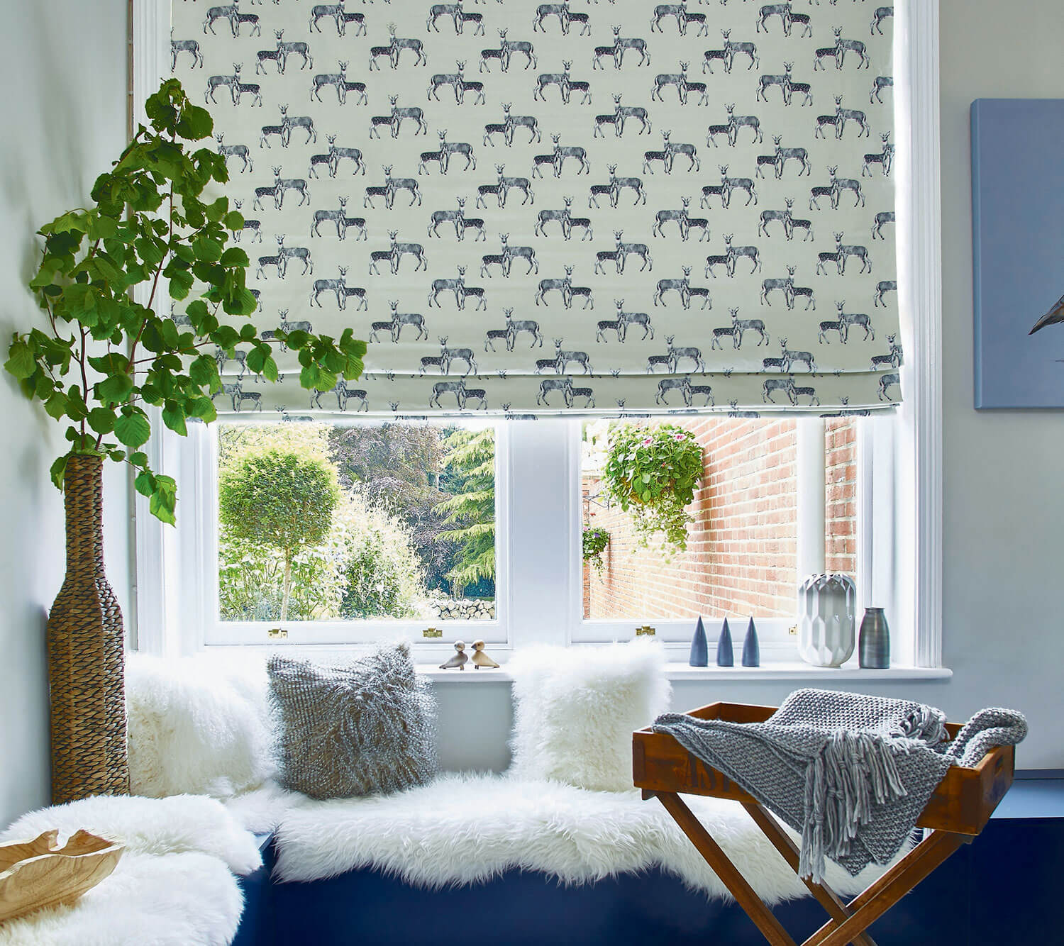 Deer Canvas | PT Roman Blind