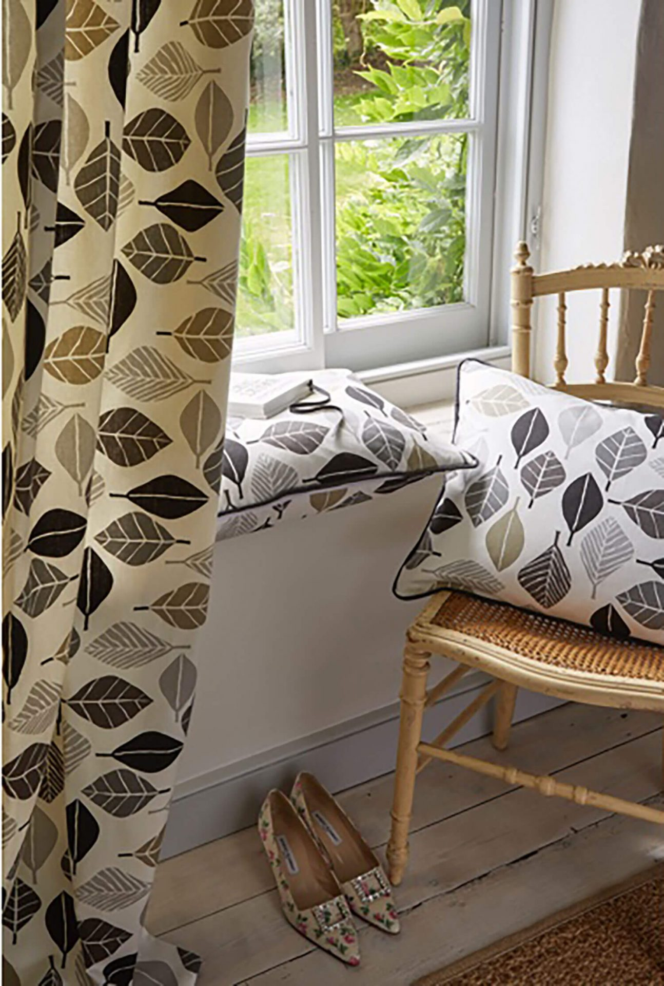 Fall Graphite Curtains