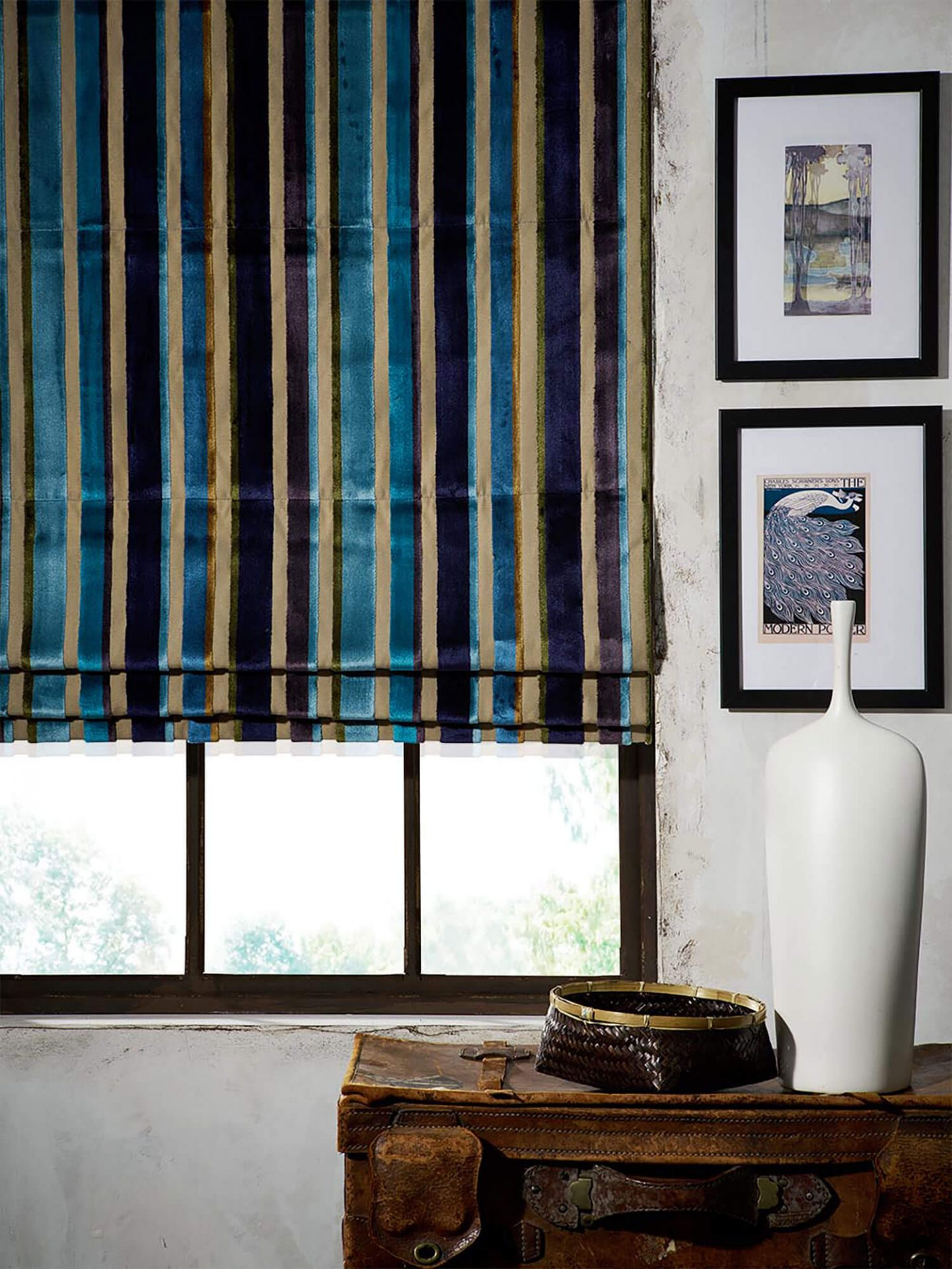 Festival Midnight | iLiv Roman Blinds