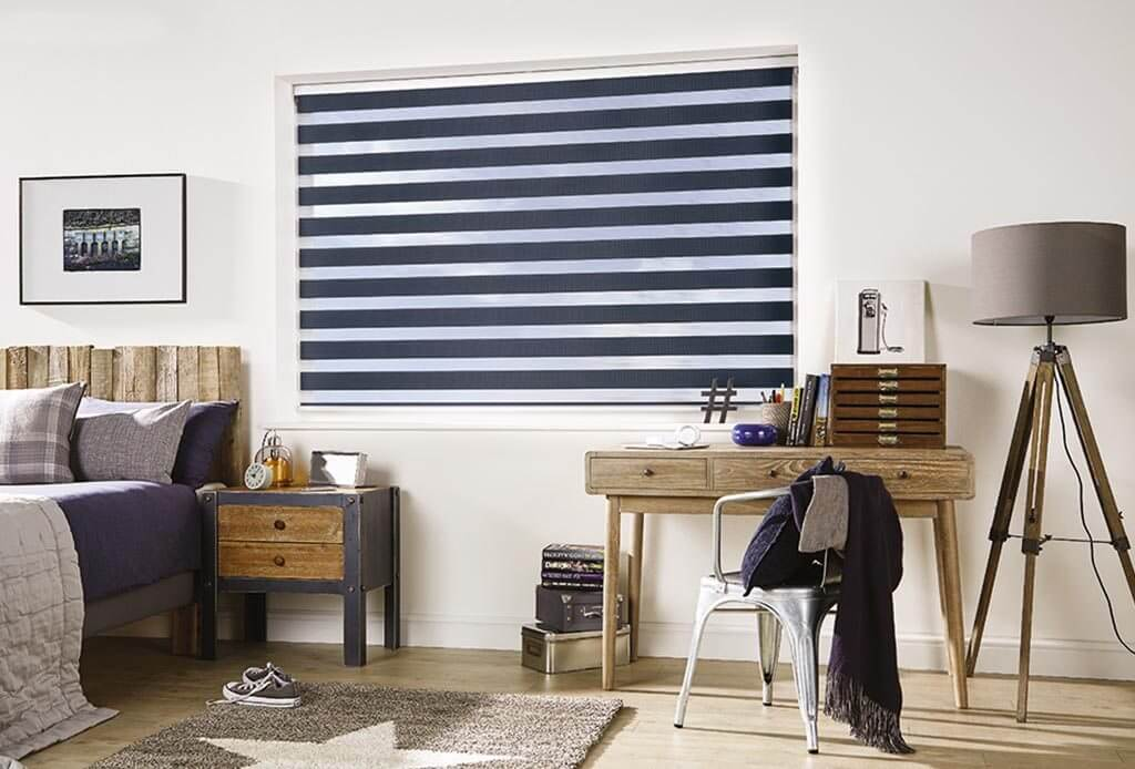Capri Navy | Vision Blinds