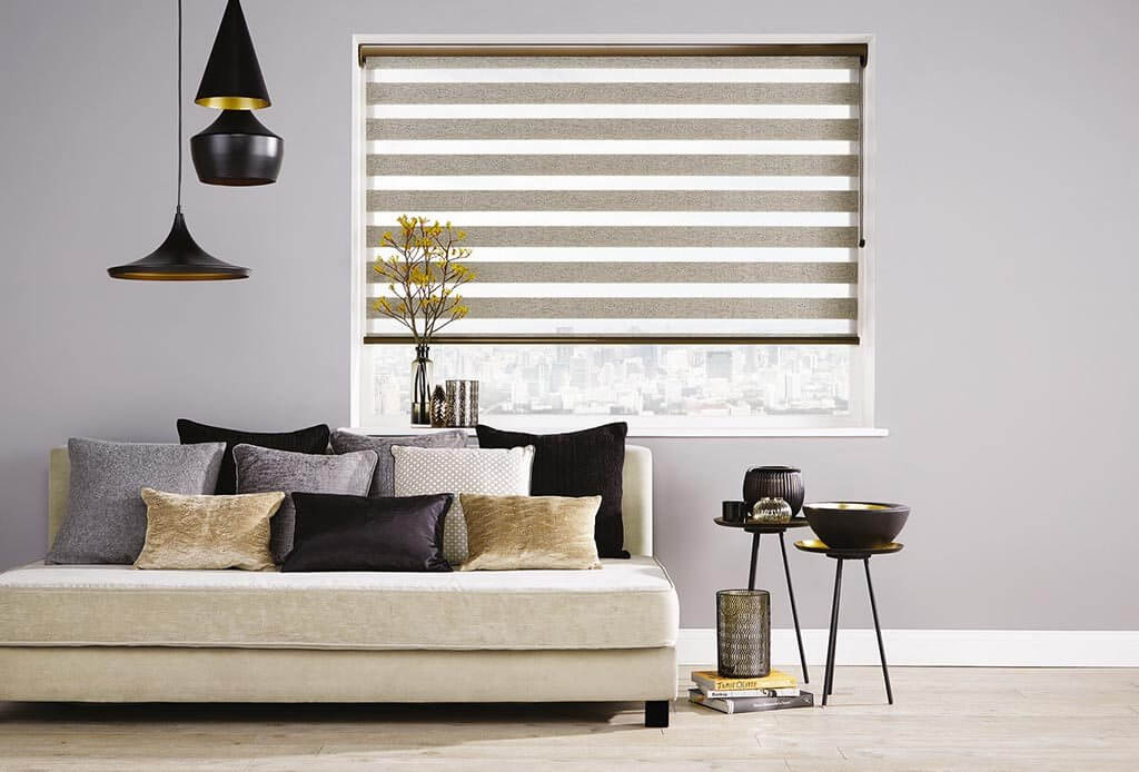 Milan Taupe | Vision Blinds
