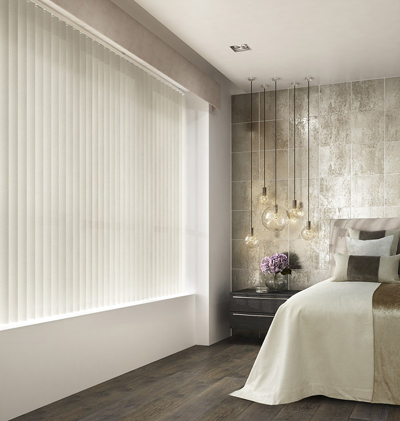 Manhattan Ivory | Vertical Blind