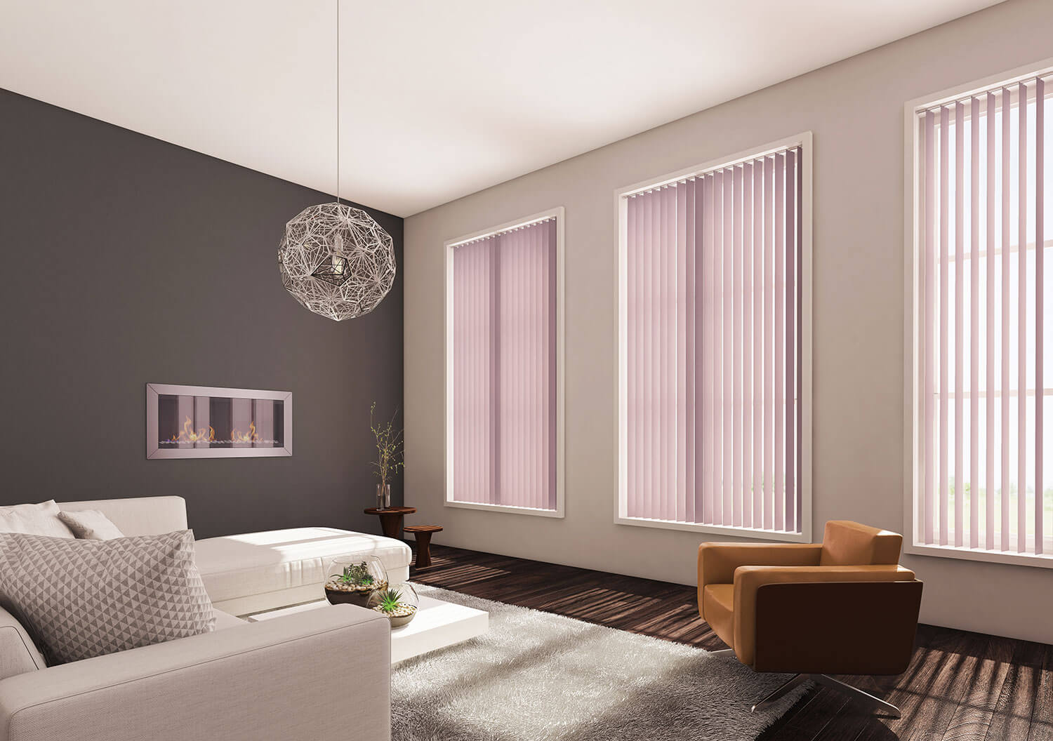 Palette Rose | Vertical Blind