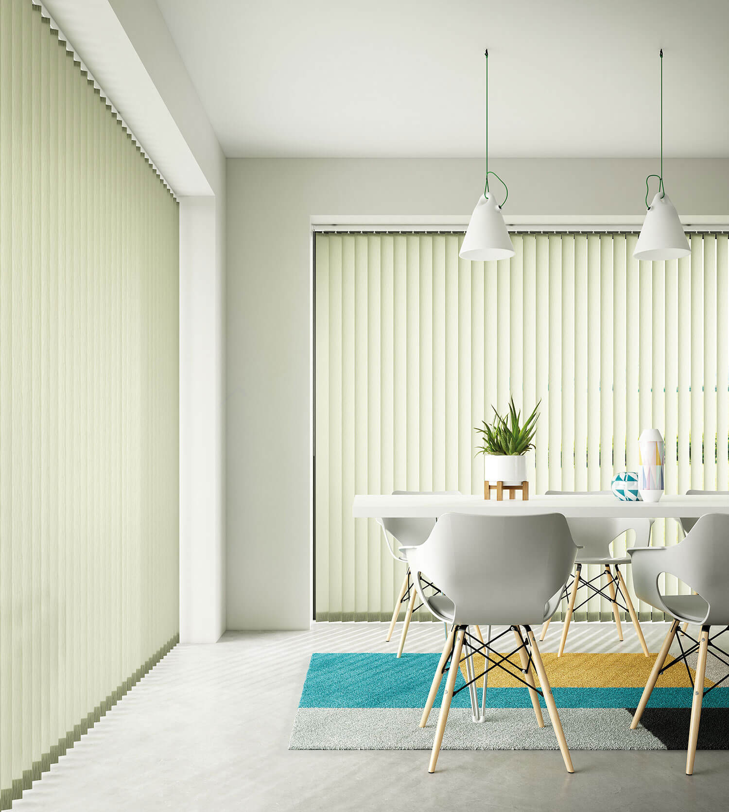 Seko Olive | Vertical Blind