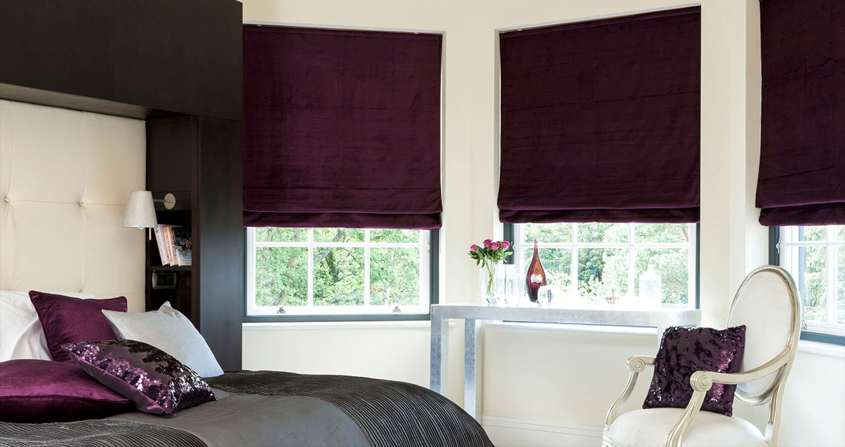 Polo Grapewine | Roman Blinds