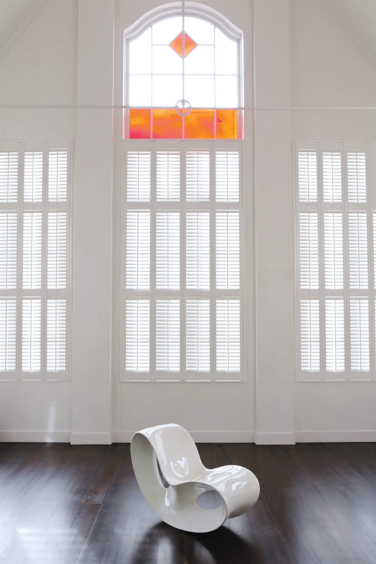 Christo Soft White 89mm Shutters