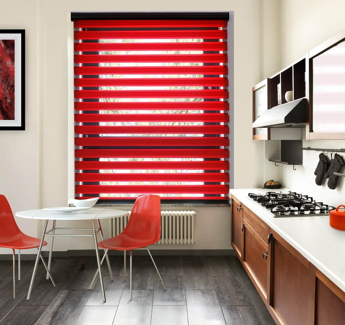 Binale Red | Vision Blinds