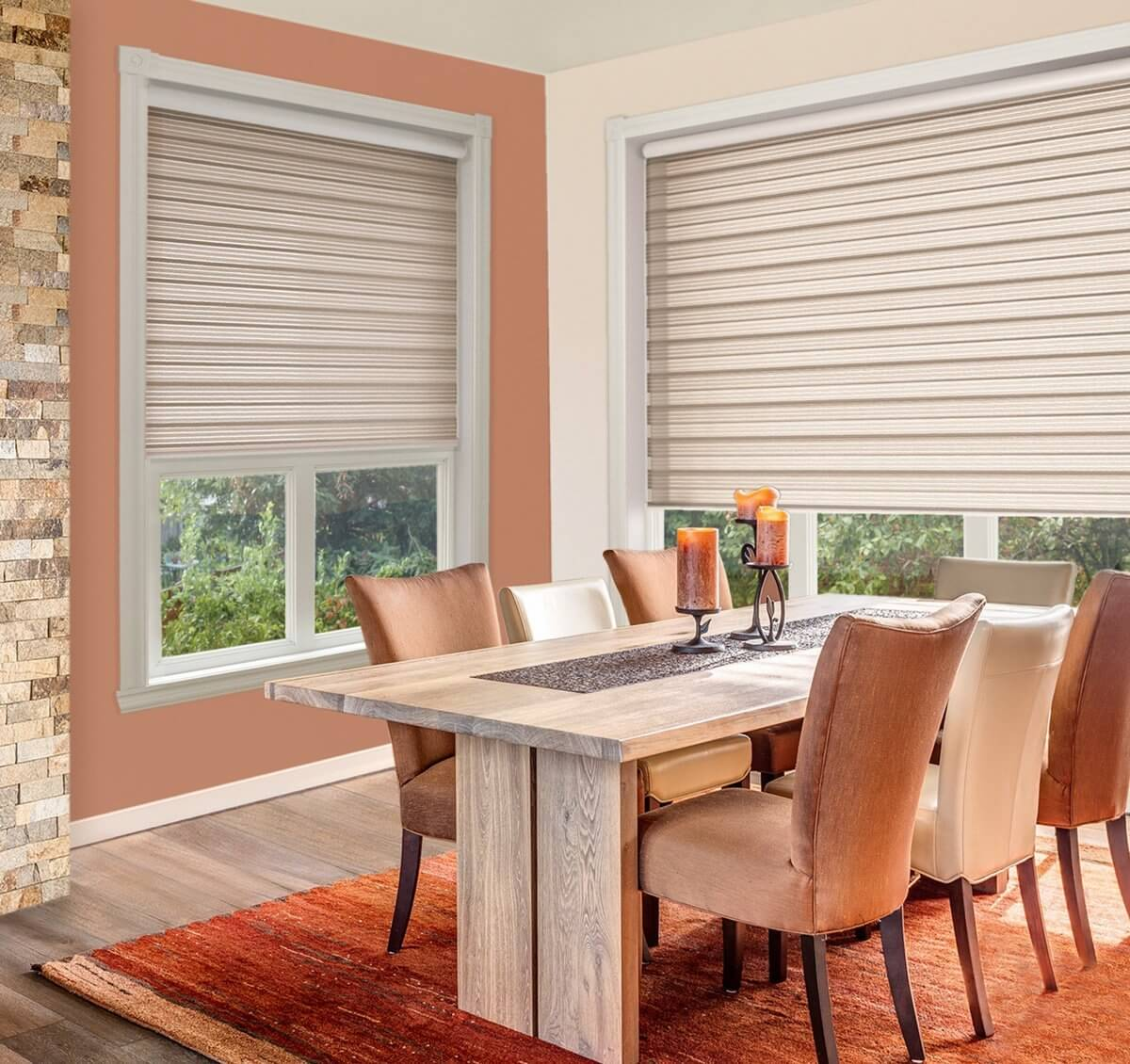 Lunica Light Brown | Vision Blinds