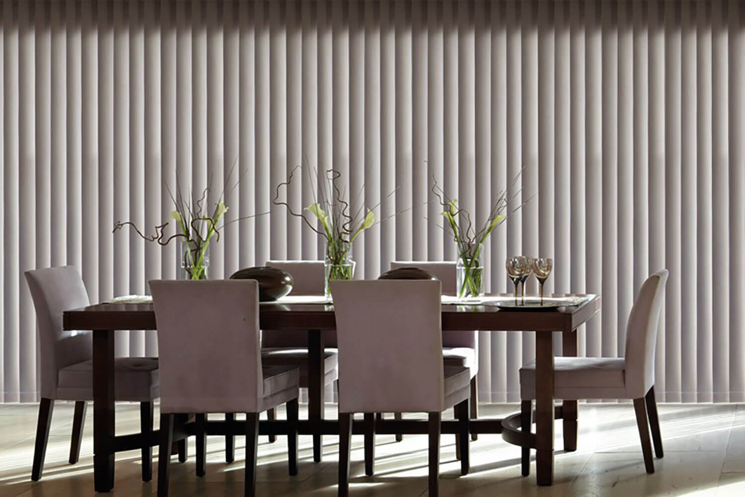 Splash Hessian | Vertical Blind