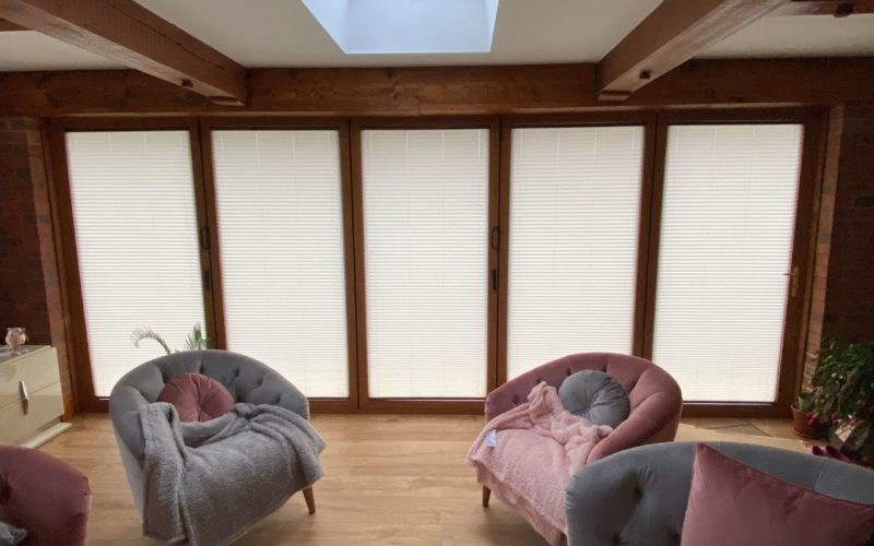 INTU Micro Pleated Blinds