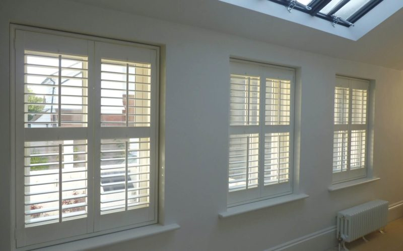 Shutters with Mid Rail