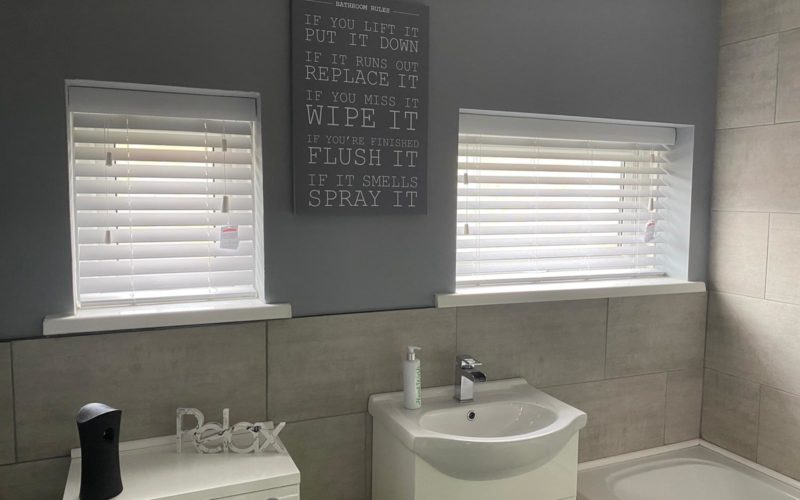 Bathroom PVC Venetians