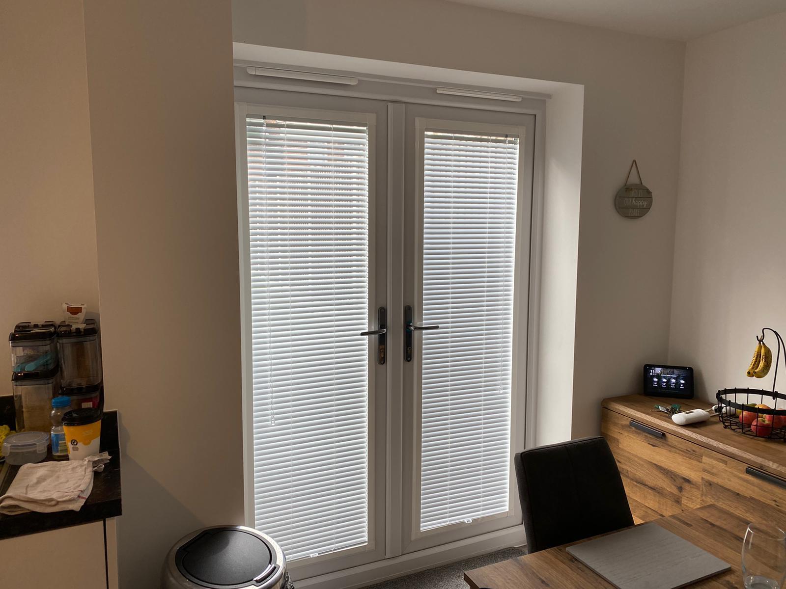 Perfect fit door blinds