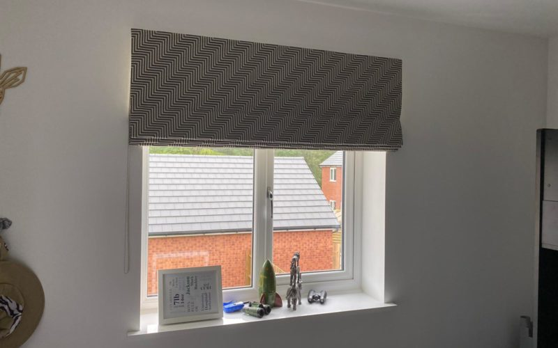 Roman blinds in Stafford